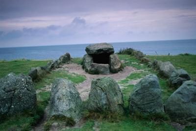 Stone Age Grave on German Island by Nik Wheeler
