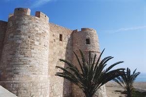 Tunisia, Island of Jerba, Houmt Souk, Bordj El Kebir Fort by Nik Wheeler