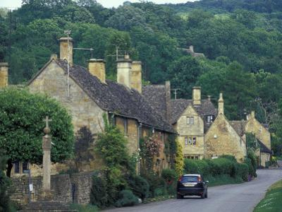 Village of Stanton, Cotswolds, Gloucestershire, England by Nik Wheeler