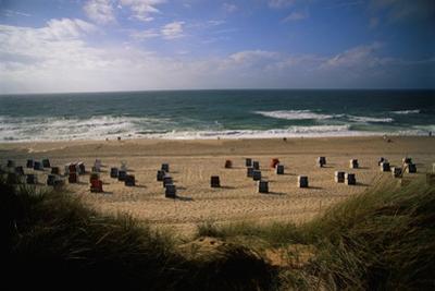 Wenningstedt Beach on Sylt Island by Nik Wheeler