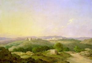 View of Bethlehem, 1857 by Nikanor Grigor'evich Chernetsov