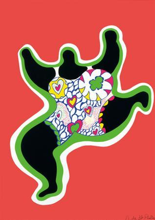 Leaping Nana, part of the series Nana Power, 1970 by Niki De Saint Phalle