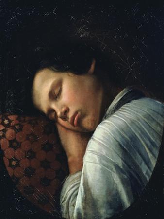 Sleeping Boy (Portrait of Avtiranov)