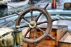 Steering Wheel Sailboat by nikitos77