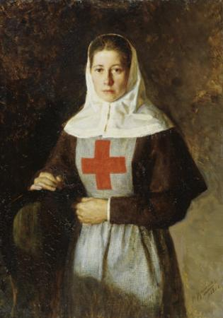 The Nurse by Nikolai Alexandrovich Yaroshenko