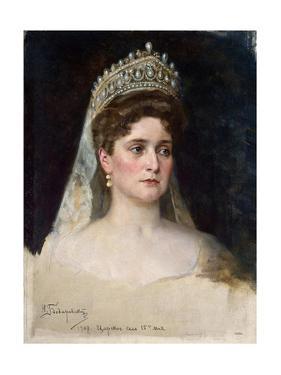 Tsarina Alexandra Fyodorovna, 1907 by Nikolai Bodarevsky