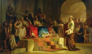 Trial of the Apostle Paul by Nikolai K. Bodarevski