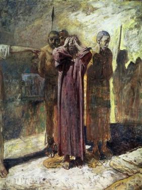 Golgotha, 1892-93 by Nikolai Nikolaevich Ge