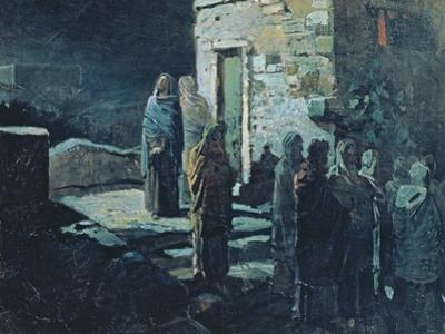 Christ after the Last Supper in Gethsemane, 1888