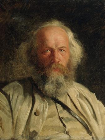 Portrait of Mikhail Alexandrovich Bakunin