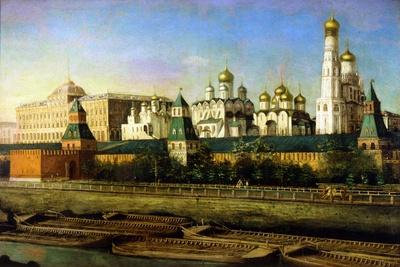 View of the Moscow Kremlin, 19th Century