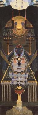 Mozart. Requiem, before 1923 by Nina Alexandrovna Varypaeva