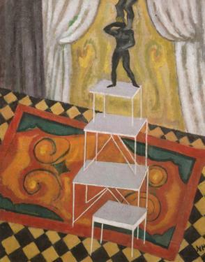 Acrobats, 1910 by Nina Hamnett