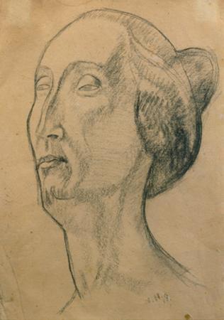 Edith Sitwell, 1918 by Nina Hamnett
