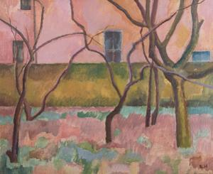 Orchard I, 1918 by Nina Hamnett