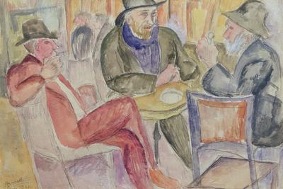Paris Cafe, 1921