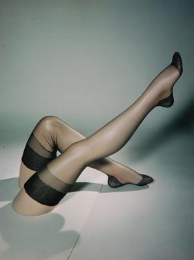 Best Selling Christmas Gifts - Lace Stockings by Nina Leen