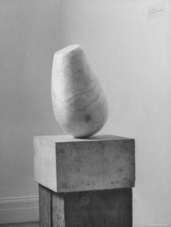Brancusi Sculpture on Exhibit at the Guggenheim Museum