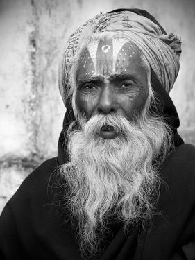 Nepal Saddhu II by Nina Papiorek