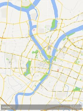 Ningbo, China Map