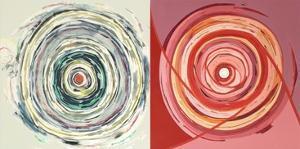 Target duo III by Nino Mustica