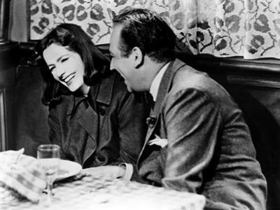 Ninotchka, Greta Garbo, Melvyn Douglas, 1939, Laughing