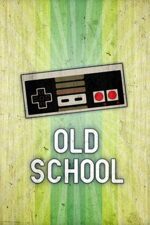 Nintendo NES Old School Video Game Plastic Sign