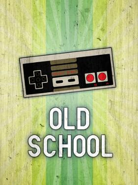 Nintendo NES Old School Video Game Poster Print