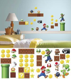 Nintendo - Super Mario Build a Scene Wall Decal