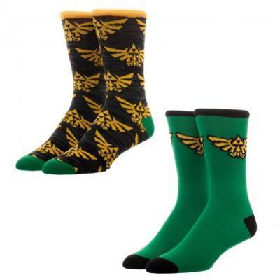 Nintendo Zelda - 2 Pack Crew Socks