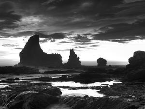 Grey Cloud Tide Sunset by Nish Nalbandian