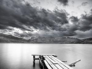 Lake with Dock by Nish Nalbandian
