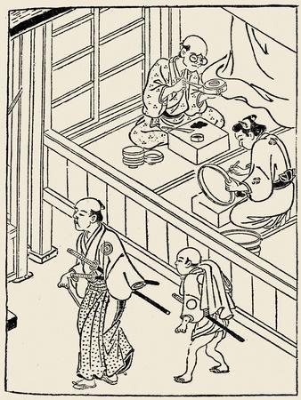 Japan: Samurai, 1700