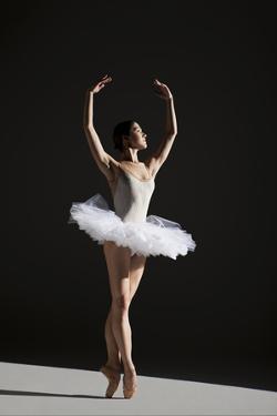 Classical Ballerina on Point by Nisian Hughes