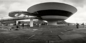 Niteroi Contemporary Art Museum Designed by Oscar Niemeyer, Niteroi, Rio De Janeiro, Brazil