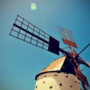 Old Windmill Fuerteventura, Canary Islands, Spain by nito
