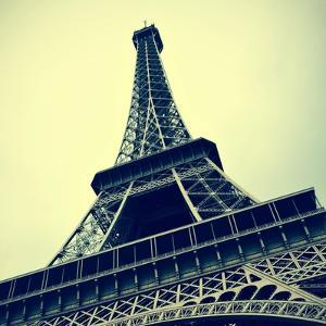 Picture Of The Eiffel Tower In Paris, France, With A Retro Effect by nito