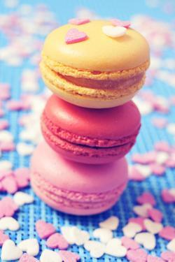 Some Appetizing Macarons of Different Flavors by nito