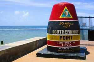 Southernmost Point in Continental USA in Key West,Florida by nito