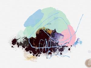 Eggplant Abstract by Niya Christine