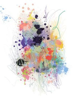 Lavender Wildflower Explosion by Niya Christine