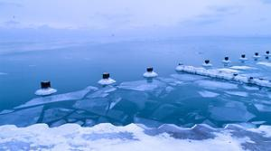 Ice Shelf by NjR Photos