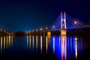 Night Bridge by NjR Photos