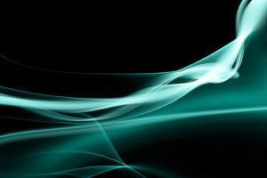 Turquoise Smoke by Nneirda