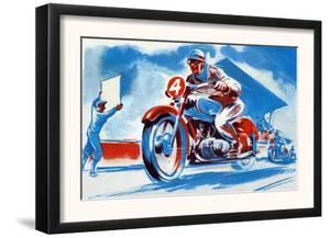 No. 4 Motorcycle
