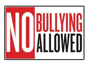 No Bullying Allowed Classroom Poster