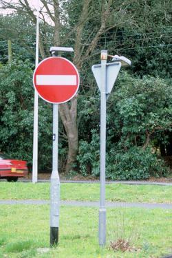 No Entry, Road sign