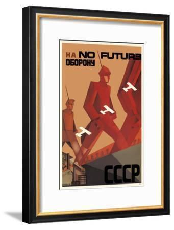 No Future (FOR)--Framed Masterprint