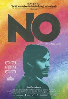 No (Gael Garcia Bernal) Movie Poster