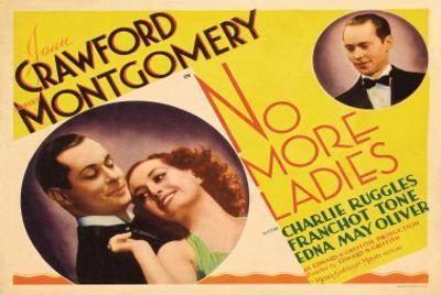 No More Ladies, 1935